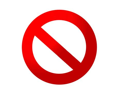 no smoking sign red circle no sign clipart best