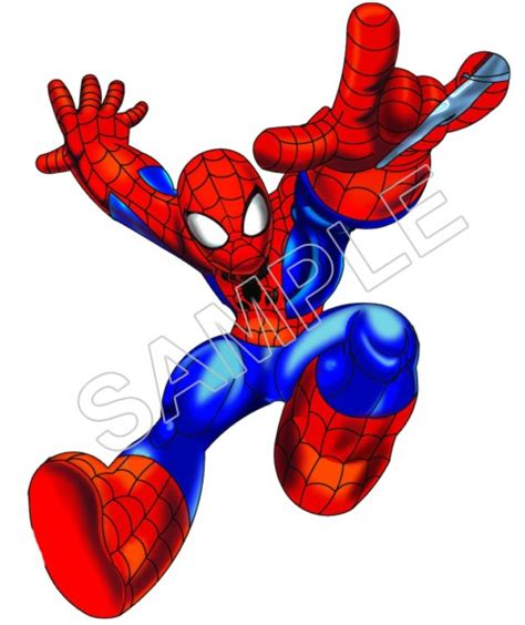 super hero squad spider man t shirt iron on transfer decal 1