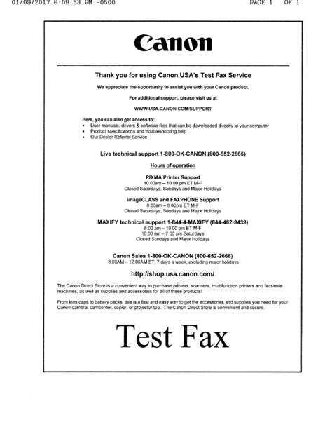 test fax us fax test services hp and canon gough s tech