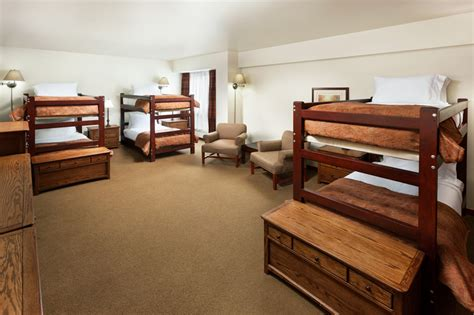 big bunk beds hotel rooms lodging prices alta s rustler lodge alta