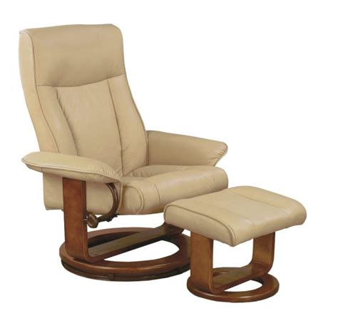 euro chair with ottoman mac motion euro recliner and ottoman in cobblestone