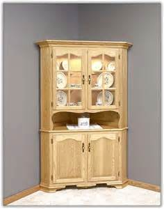 Country Kitchen Corner Cabinet corner kitchen hutch cabinet home design ideas