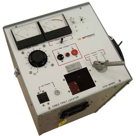 capacitor discharge fault locator hipotronics cf30 8 30kv thumper mitchell instrument company