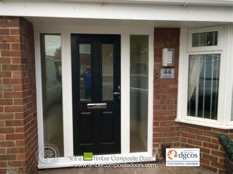 Black Ludlow Solidor Timber Composite Door 2 Composite Composite Front Door Cost