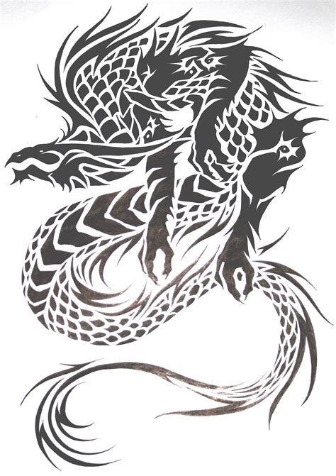 tribal dragon tattoo designs for men tattoos and designs page 131