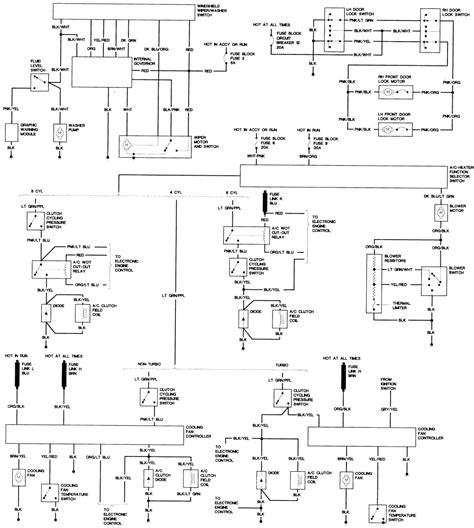 88 ford mustang headlight wiring harness diagram 88 get