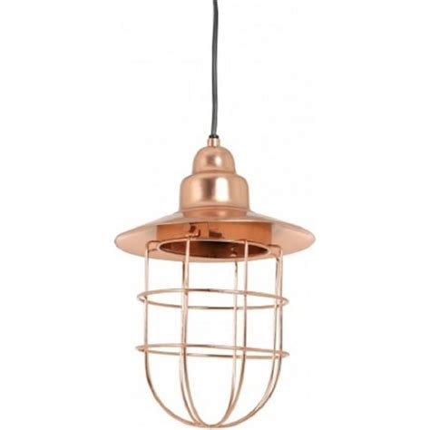 rose gold pendant light industrial cage ceiling pendant light in warm rose