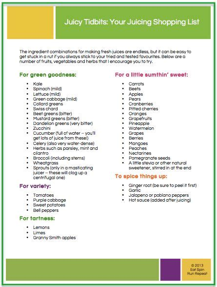 printable list of juicing recipes 17 best images about juice recipes on pinterest free