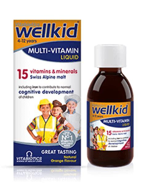 Wellness Multi 30tabs wellkid multi vitamin product information vitabiotics