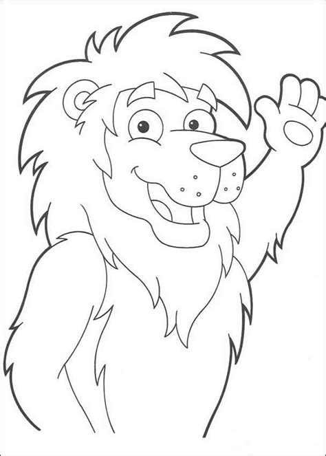 birthday lion coloring page lion the king coloring pages hellokids com
