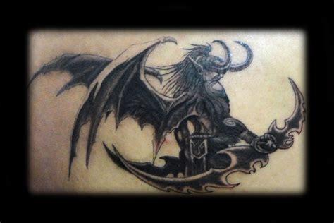 illidan tattoo illidan stormrage by freevil on deviantart