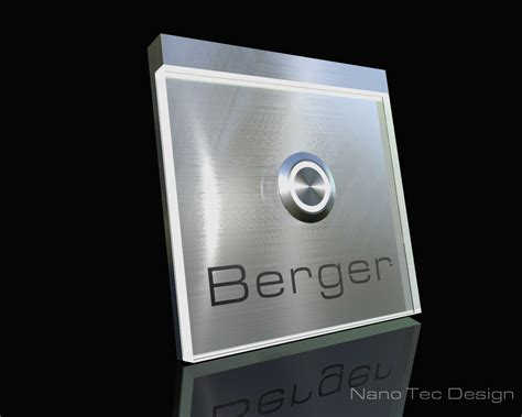 Mit Led by Klingelknopf24 De T 252 Rklingeln Nano Tec Design