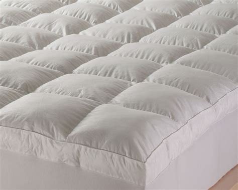 down bed topper sofitel goose down mattress topper
