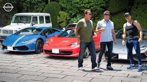 Arnold Schwarzenegger Cars Collection by Damme Arnold Schwarzenegger Sylvester Stallone Cars