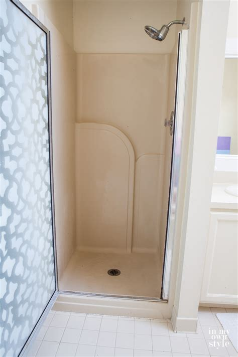 master bath shower makeover in own style