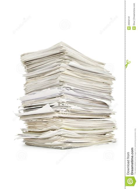 Research Papers On U S Libraries by Pile Of Papers Stock Image Image Of File Library Office