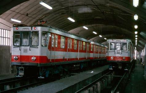 cocheras metro madrid madrid ferrocarriles y transportes urbanos inventario