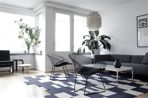 black and white living room chairs simple black white living room with net chairs interior