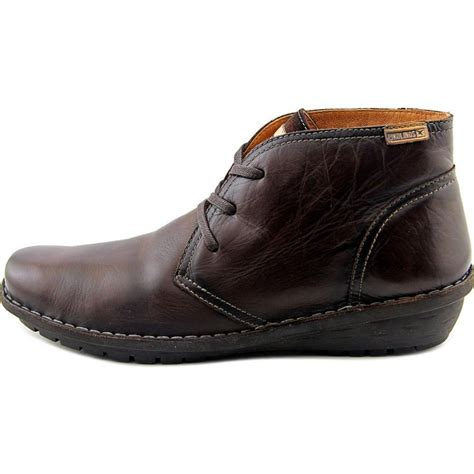 pikolinos moka chukka leather brown chukka boot boots