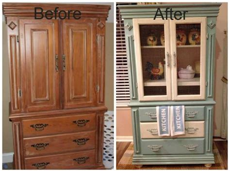 Diy Tv Armoire by Got An Tv Cabinet We Turned Ours Into A Kitchen Hutch