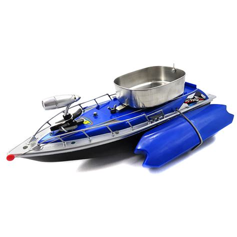 flytec rc fishing boat flytec 3 generation rc boat blue
