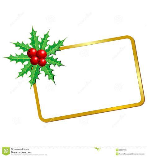 imagenes en blanco de navidad tarjeta en blanco de la navidad ilustraci 243 n del vector