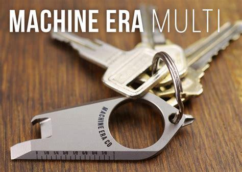 most useful keychain tools machine era titanium keychain multi tool