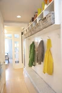 Narrow Entryway Storage Long And Narrow Mud Room Contemporary Laundry Room