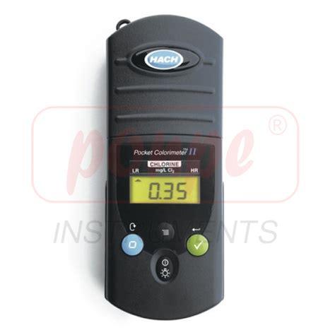 Pocket Colorimeter Ii Chlorine Free Adn Total Hach 5870000 1 pocket colorimeter ii hach chlorine free and total