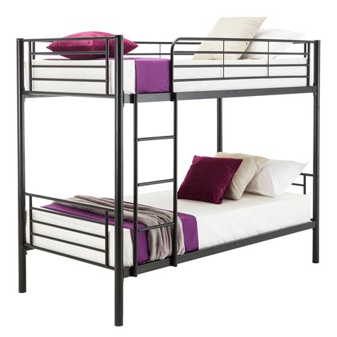 Metal Framed Bunk Beds Metal Bunk Beds Frame Ladder Bedroom For Children