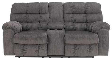 ashley furniture dual reclining sofa ashley signature design acieona slate 5830094 double