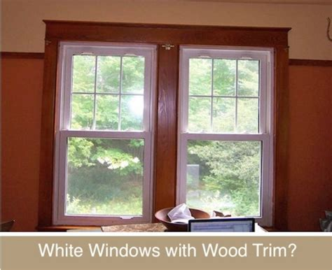 Decor Disputes: White Windows with Wood Trim, Yes or No