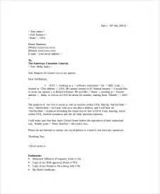 Tourist Visa Covering Letter by Sle Visa Sponsorship Letter 7 Documents In Pdf Word