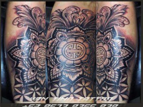bali tattoo mandala balinese artist tattoo ubud