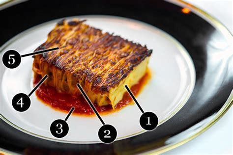 posto in the 100 layer lasagne at posto in nyc eater