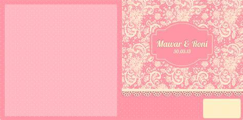 Surat Undangan Pernikahan Soft Cover Wedding Invitation Colour 4 desain undangan cover aneka contoh undangan pernikahan