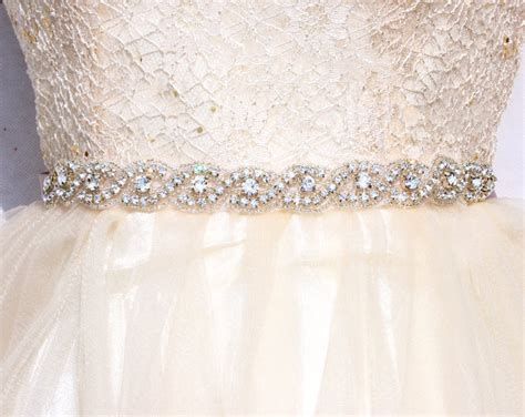 all around bridal belt wedding sashes and belts wedding dress