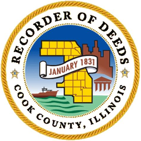 Cook County Recorder Of Deeds Property Search Schiller Park Il Official Website