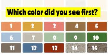 what colors look on me quiz color test what is your strongest emotion