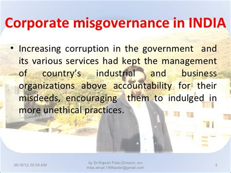 Mba Corporate Governance Notes by Corporate Governance Theories And Practices
