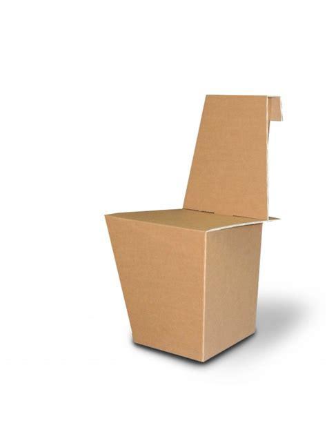sedia di cartone sedia di ecodesign in cartone per bambini ginny