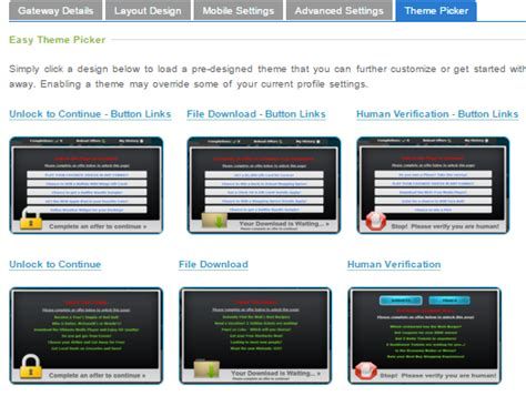 theme creator locker how to create content locker popup make money with cpa