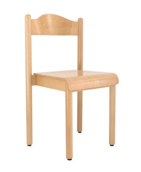 sedie per bambini sedia impilabile per scuola e asilo in legno di faggio