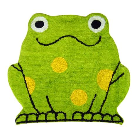 frog bathroom mainstays peeking frogs decorative bath collection bath