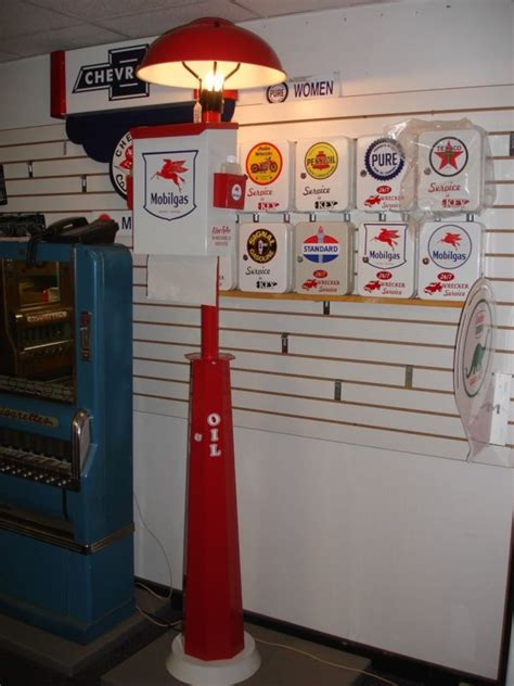 Vintage Gas Station Island Lights Gas Station Island Light Shop Collectibles Daily