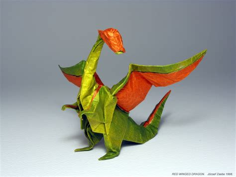 Origami Winged - 27 spectacular western style origami dragons