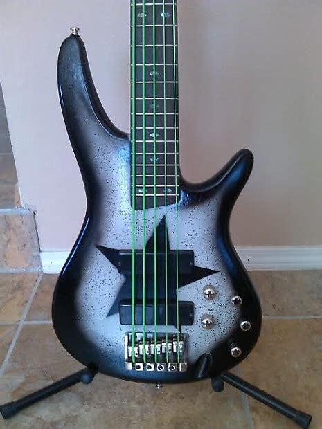 Bass Ibanez Sdgr Custom ibanez sr505 custom finish 5 string bass reverb