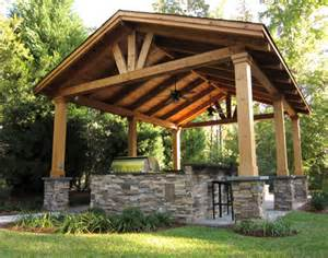 outdoor covered patio structures outdoor living spaces hay hill services