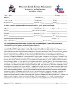 Release Letter From Soccer Club Soccer Waiver Fill Printable Fillable Blank Pdffiller