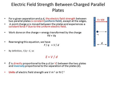 if the electric field between the plates of a given capacitor is weakened week 1 s2 feb 15 20 2016 fields 4 1 electric fields ppt